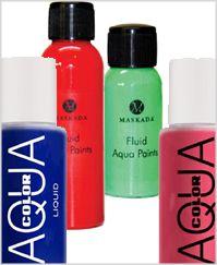 Bodypainting Farbe flüssig