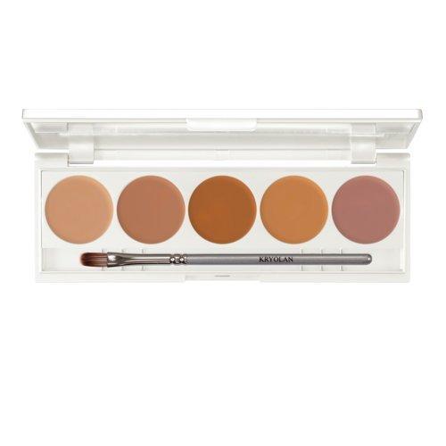 Kryolan Dermacolor Quintett 2 Palette Camouflage Make-up Hautfarben