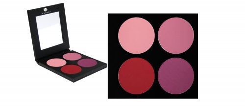 Matte Lidschatten Palette P4 4 Farben