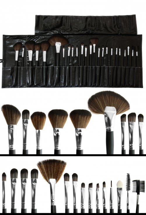 Profi Make up Pinseltasche Set
