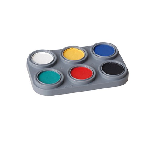 Kinderschminke Water make up Palette