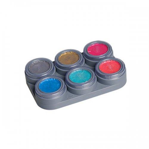Glänzendes Water make up Palette