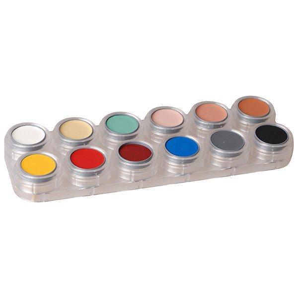 Creme Schminke 12 Farben Palette