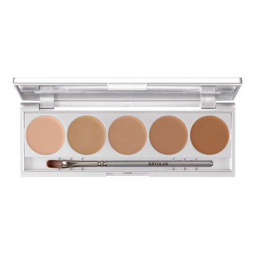 Kryolan Micro Foundation Cache Make up Palette 1