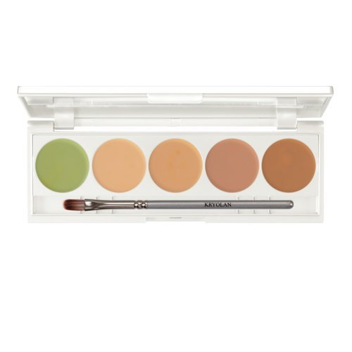 Kryolan Camouflage Make up Creme Quintett 4