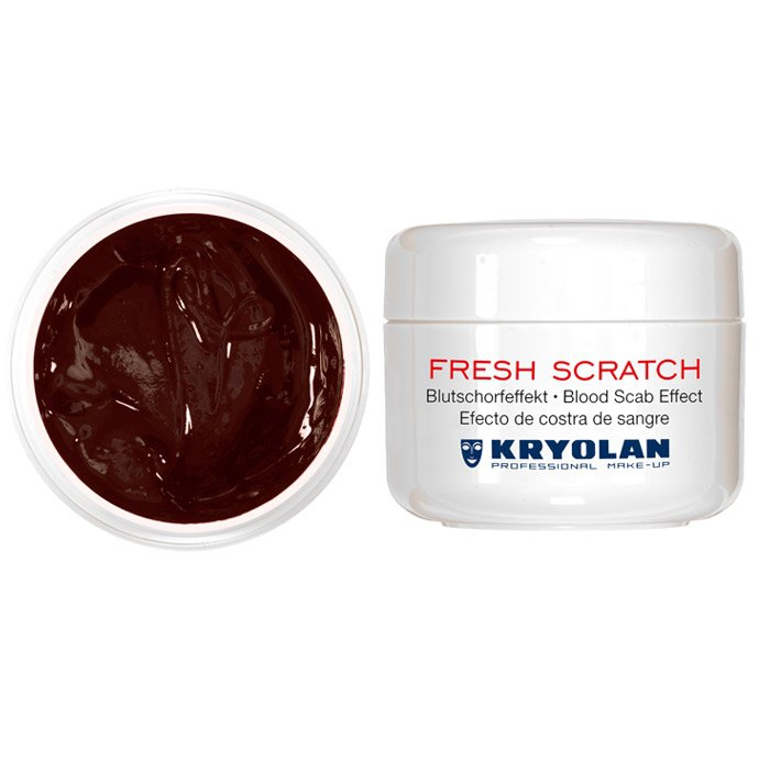 Kryolan Fresh Scratch dunkel 30 ml Dose
