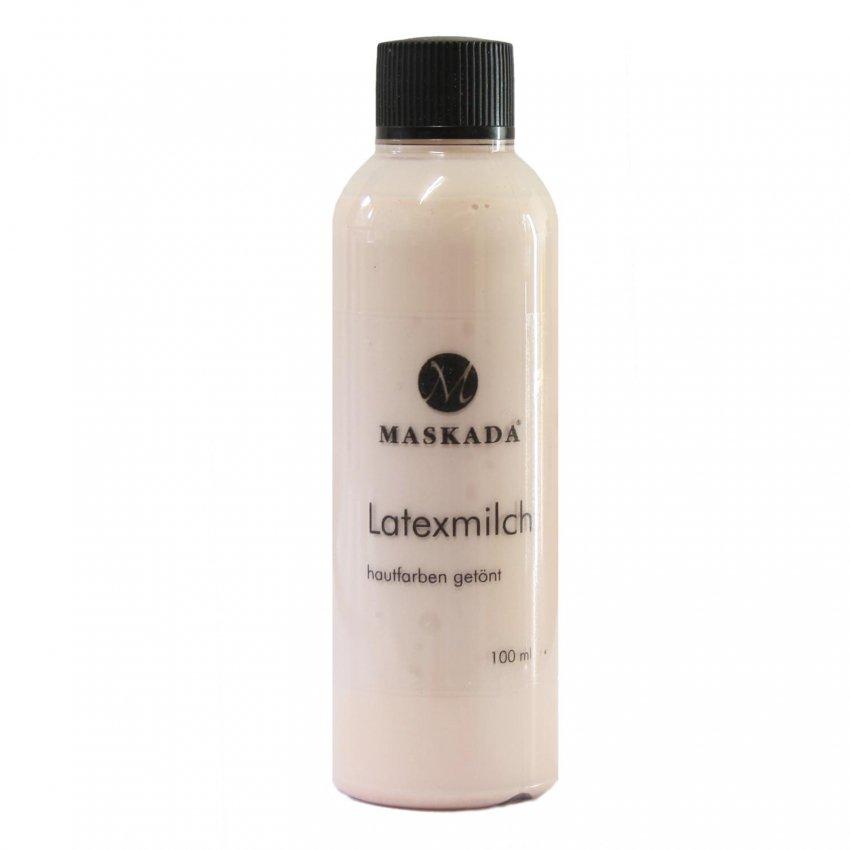 Flüssiglatex Latexmilch getönt hautfarben Maskada 100 ml