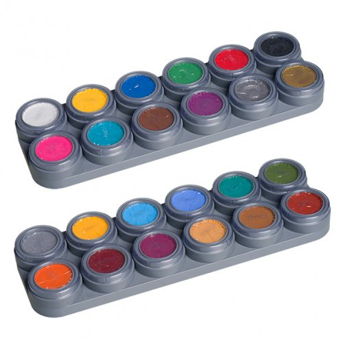 Child Paint Water Makeup 24 Color Palette