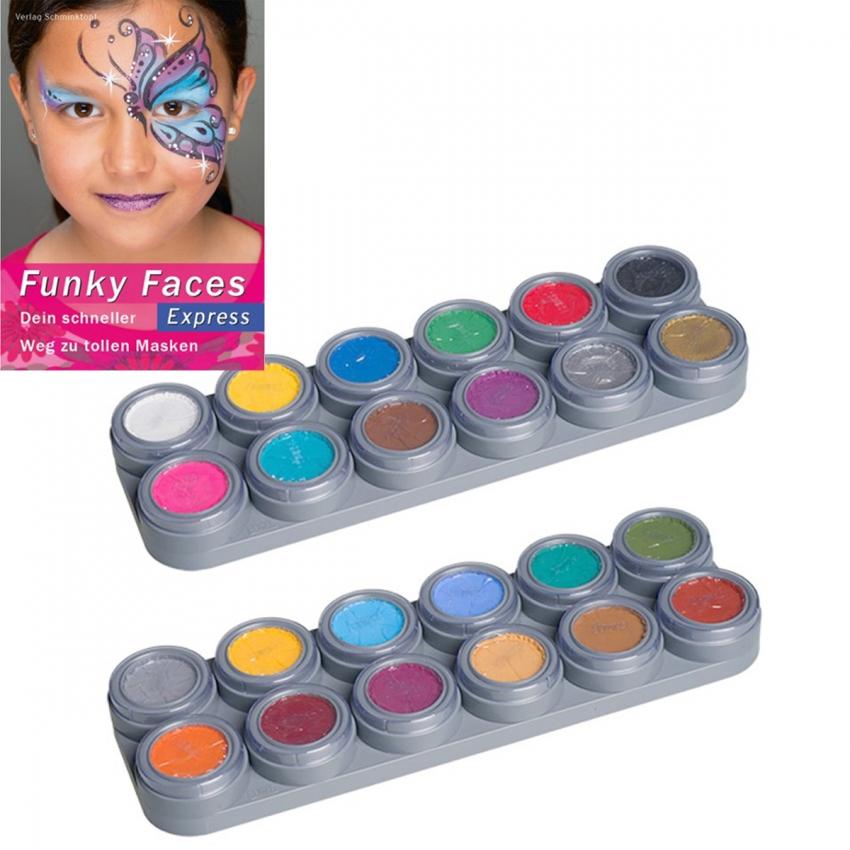 Child Paint Water Makeup Set Palette Book