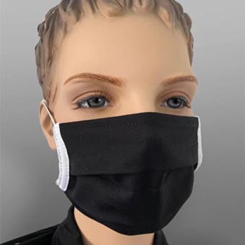 Mundmaske wiederverwendbar Farbe Schwarz 1 Stück