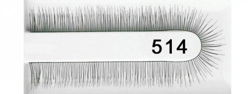 Echthaar natürlich Wimpernband 514