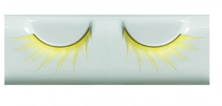 Gelbe künstliche Wimpern 268