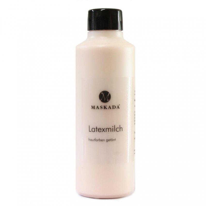 Latexmilch getönt Flüssiglatex Gummimilch hautfarben Maskada 1000 ml