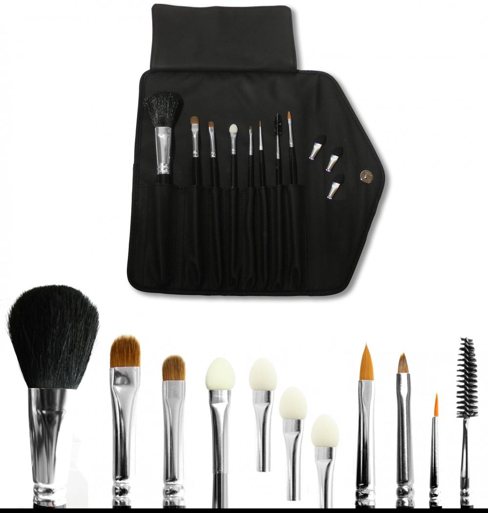 profi pro make up pinseltasche set small theater profi schminke make up. Black Bedroom Furniture Sets. Home Design Ideas