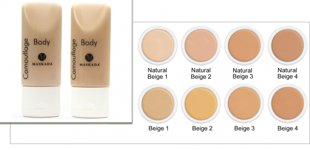 Body Camouflage Makeup 35 ml