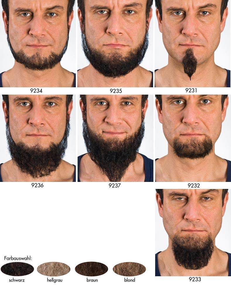 Formen kinnbart Einen Bart