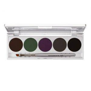 Set 2 Cake Eye Liner Set 5 Farben