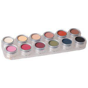 Eyeshadow - Rouge Palette  - 12 Color -  FM