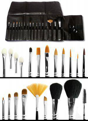 Profi Pro Make up Pinseltasche Set