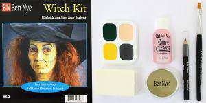 Witch Kit Hexe Halloween Schminke