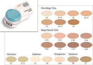 Dermacolor Camouflage Creme Make up Kryolan 4 ml Dose