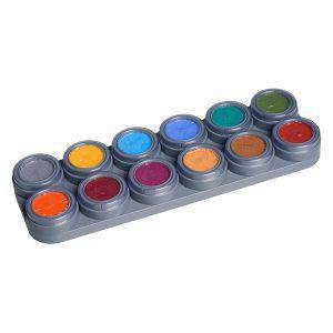Grimas Theaterschminke Schminke für Kinder 12 Farben B Palette