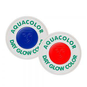 Neon Schminke Aquacolor UV Schwarzlicht Tagesleucht Farbe 15 ml Leuchtfarbe