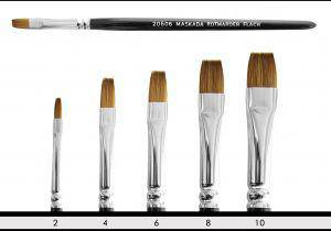 Sable Brush flat