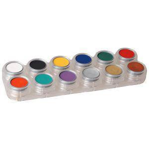 Creme Schminke 12 Farben Palette F
