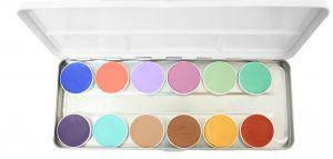 Aqua Paints Schminkpalette Mischfarben