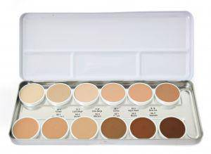 HD Matte Foundation Make up Palette 42 gr