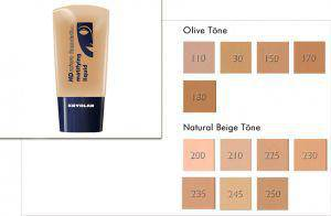 Kryolan HD Micro Foundation Matifying Liquid 30ml