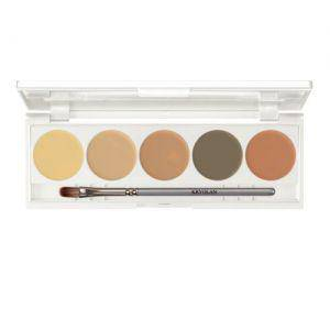 Kryolan Camouflage Creme Make up Quintett 5