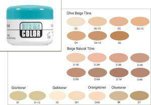 Kryolan Camouflage Creme Make up 30 ml Dose