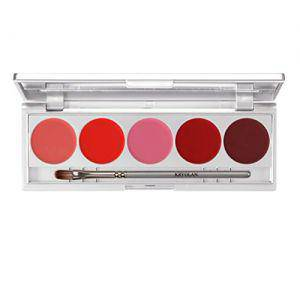 Kryolan Lippenstift Palette Make up Set 1