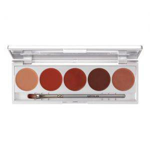 Kryolan Lippenstift Palette Make up Set 3