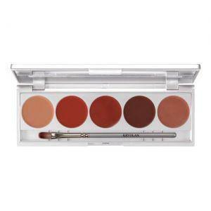 Kryolan Lippenstift Palette Make up Set 3