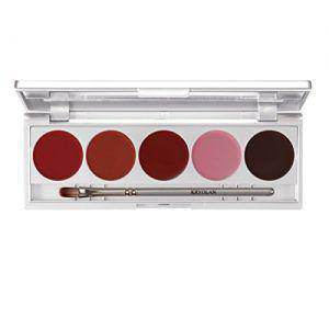 Kryolan Lippenstift Palette Make up Set 4