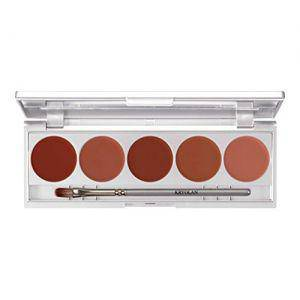 Kryolan Lippenstift Palette Make up Set 5