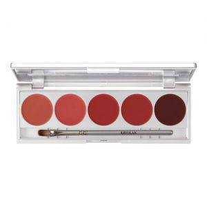 Kryolan Lippenstift Palette Make up Set 6