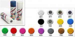 farbiges Haarcolorspray