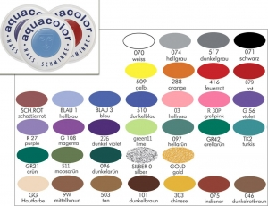 Kryolan Aquacolor Bodypainting Farbe 30ml