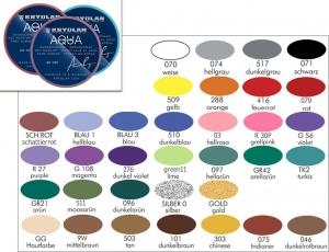 Kryolan Aquacolor Bodypainting Farbe 8ml