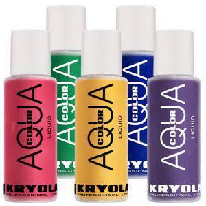 Kryolan Aquacolor Liquid 150 ml Bodypainting Farbe