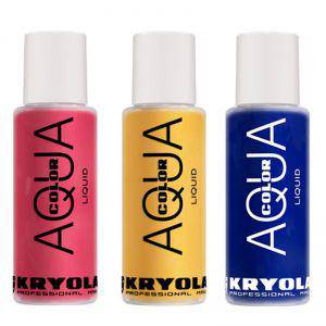 Kryolan Aquacolor Liquid Bodypainting Farbe