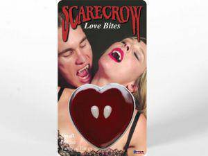 Scarecrow Love Bites Dracula Teeth - 1 Pair