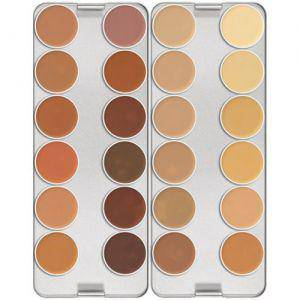Dermacolor Camouflage Make up Creme Palette 24 Farben