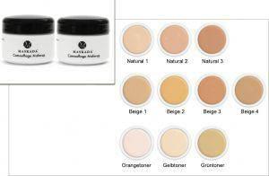 Camouflage Make up stark abdeckendes Make up Concealer Schminke Dose 5 gr