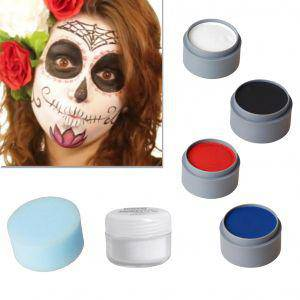 Halloween Schminke Set Sugar Skull Spain schminken Theaterschminke