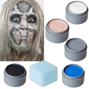 Halloween Makeup Set Cracked Doll - makeup - theatrical make